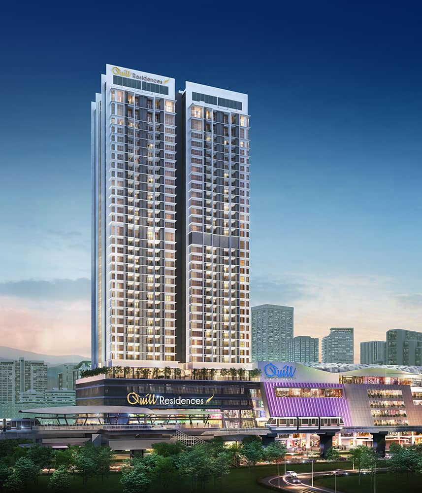 Quill Residences building