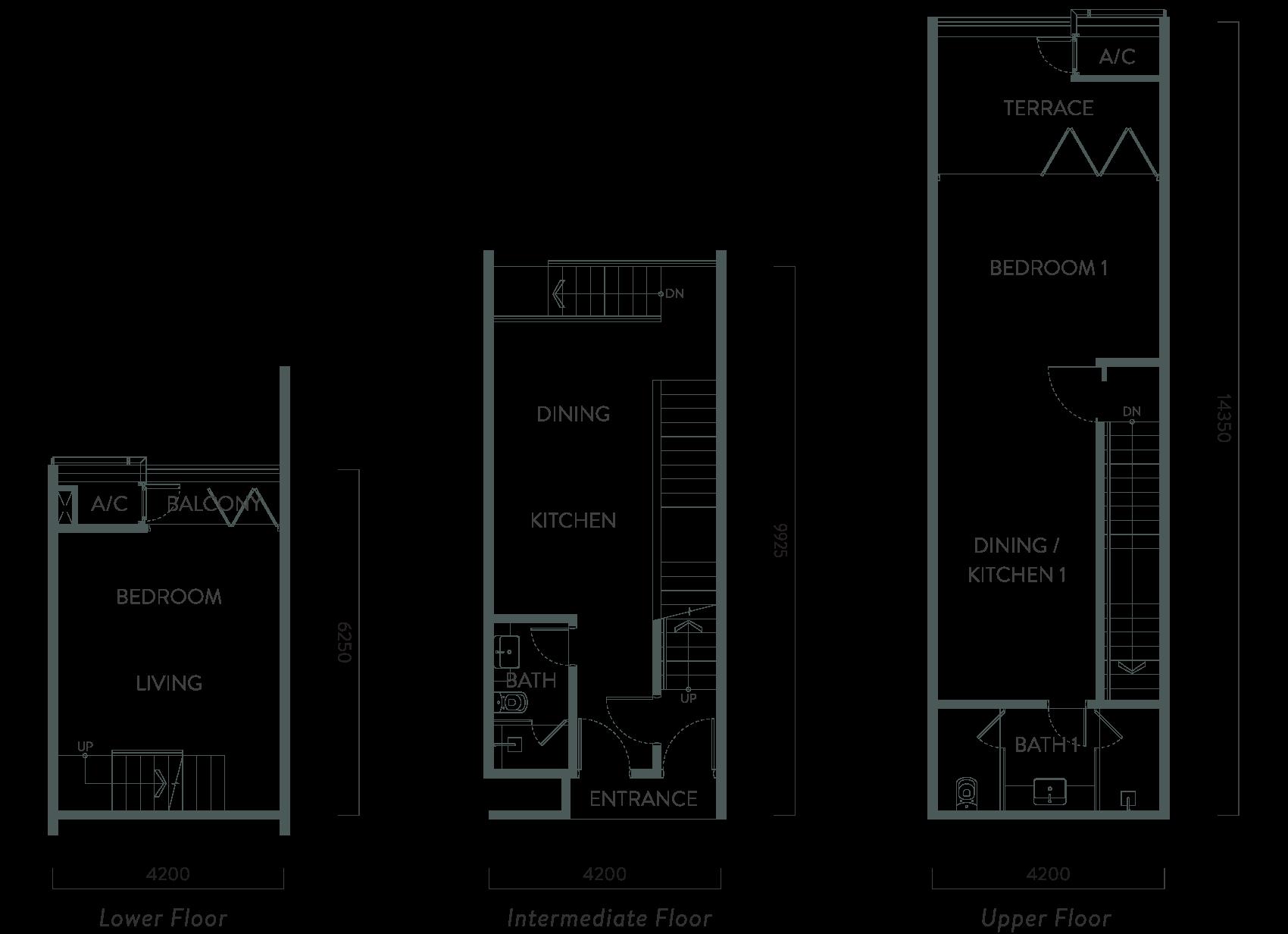 TS3b-m Floorplan