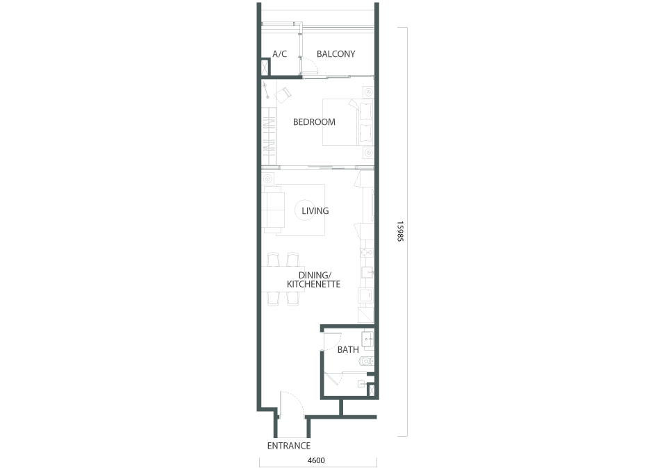 S2-A Floorplan